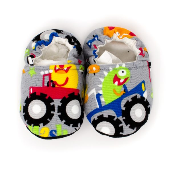 Monster Truck Baby Shoes