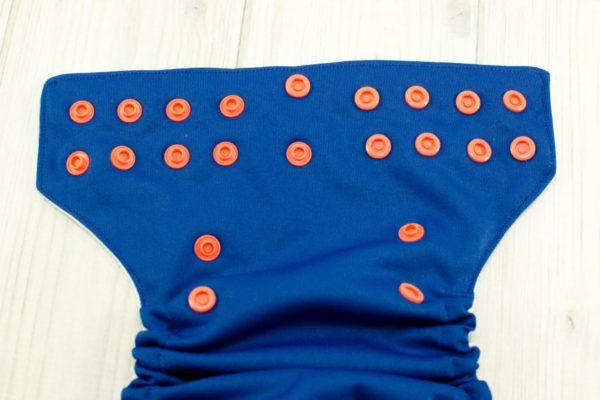 Newborn Navy Blue Cloth Diaper Cover