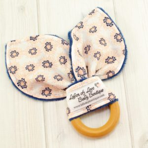 Flowers Teething Ring