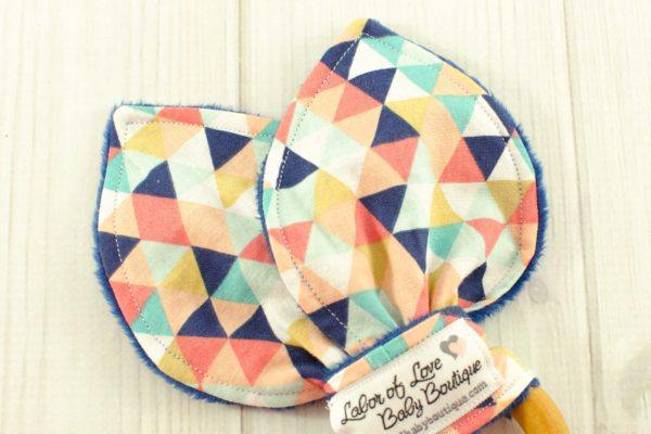 Triangles Teething Ring