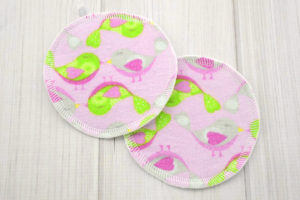 Birds Washable Breastfeeding Pads