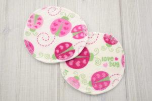 Ladybug Nursing Pads