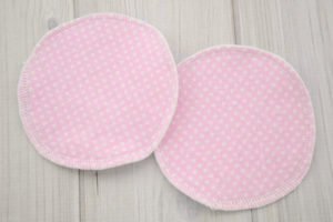 Pink Nursing Bra Pads for Breastfeeding