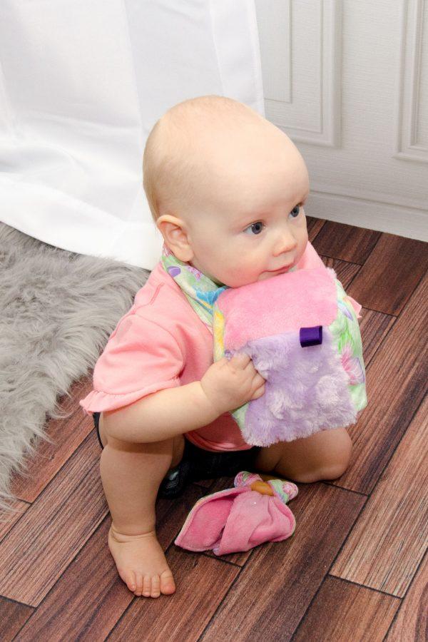 Butterfly Soft Baby Blocks - Grace
