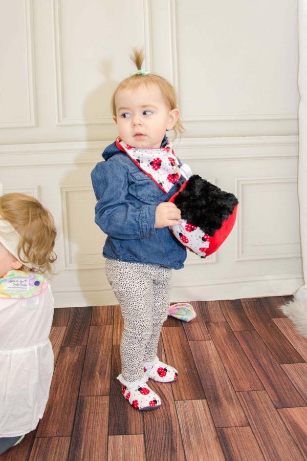 Ladybug Baby Plush Toy - Norah