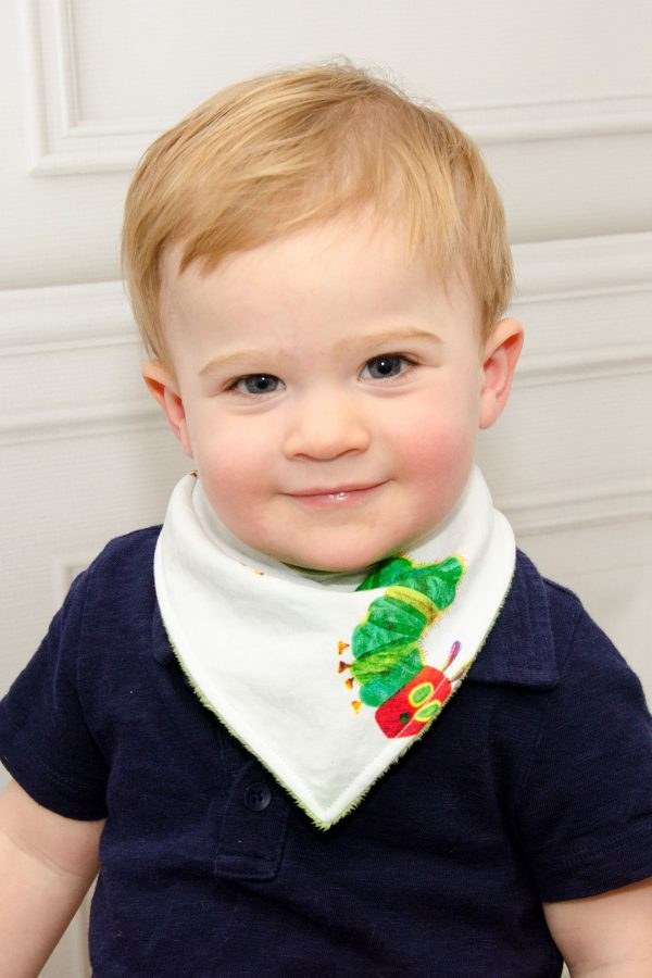 Caterpillar Bandana Bib - William