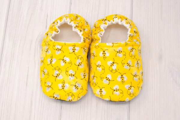 Bumble Bee Baby Shoes