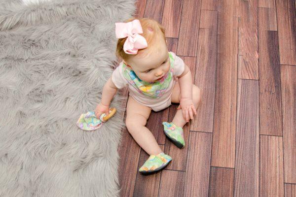 Green Butterfly Shoes - Eyla