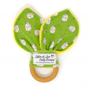 Fireflies Teething Ring
