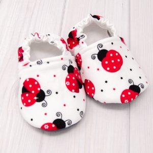 Ladybug Baby Shoes