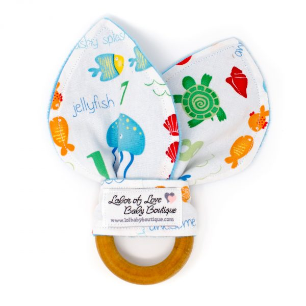 Counting Fish Teething Ring