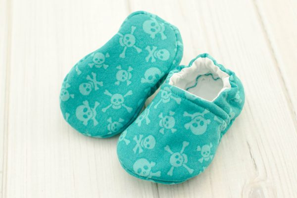 Pirate Skulls Baby Shoes