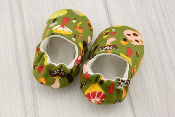 Mushroom Baby Shoes