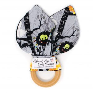 Halloween Teething Ring