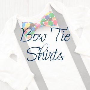 Bow Tie & Suspender Shirts