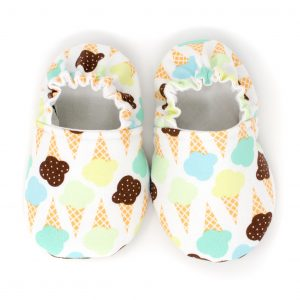 Ice Cream Baby Shoes