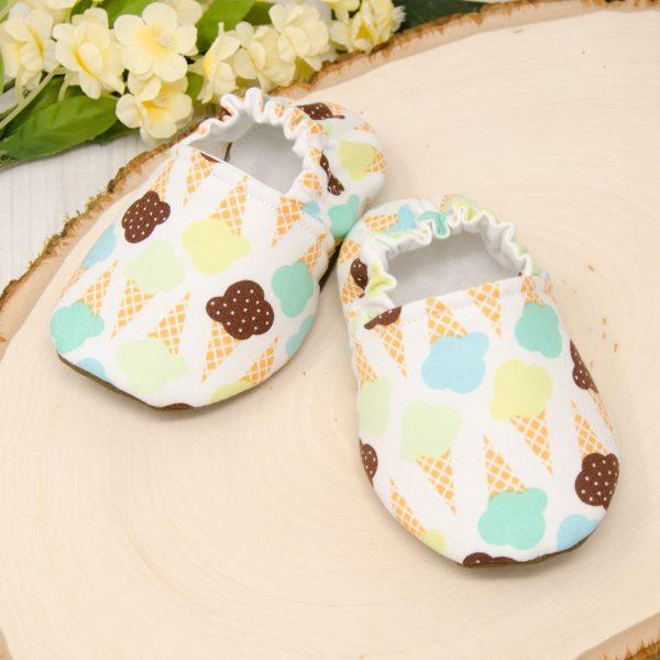Ice Cream Baby Shoes